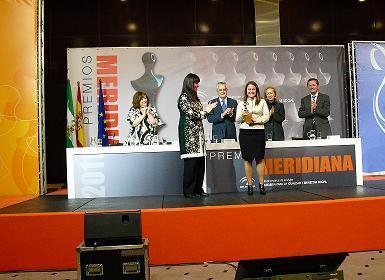 INTEC SOLAR GALARDONADA CON EL PREMIO MERIDIANA 2011
